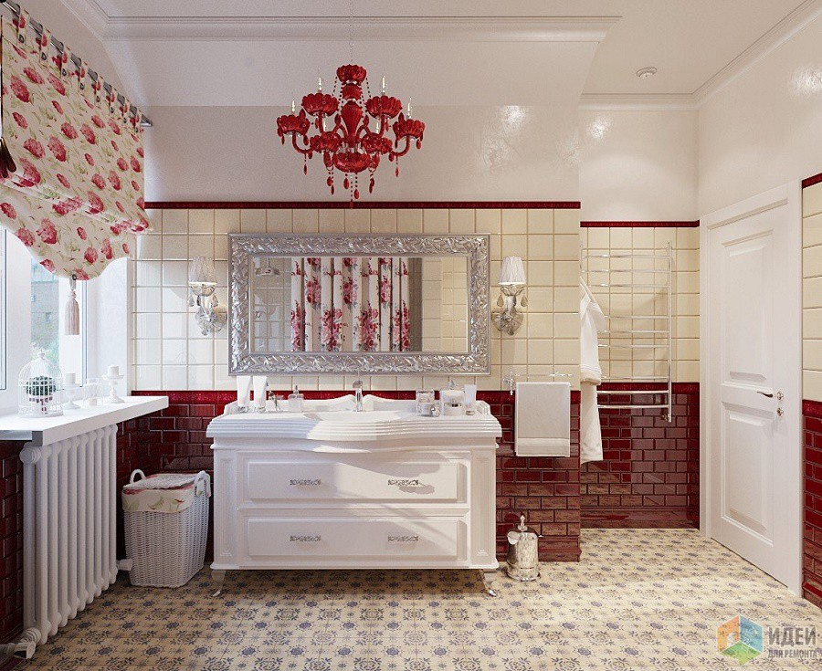 Мебель в ванну в стиле Прованс