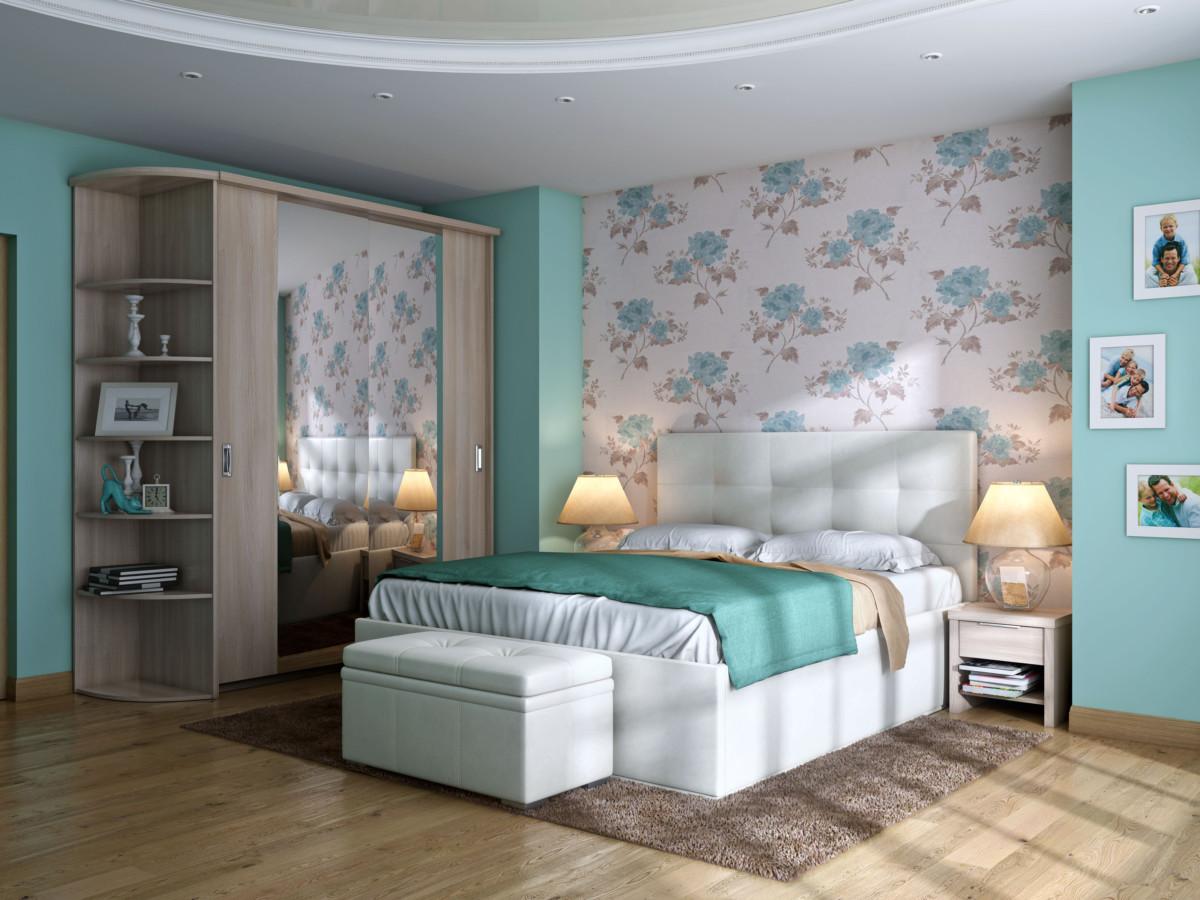 Фото обоев для спальни