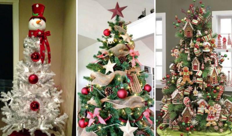 Красивая новогодняя елка своими руками