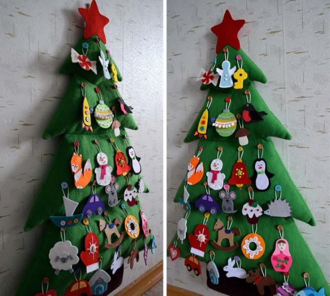 Новогодняя елка своими руками фото