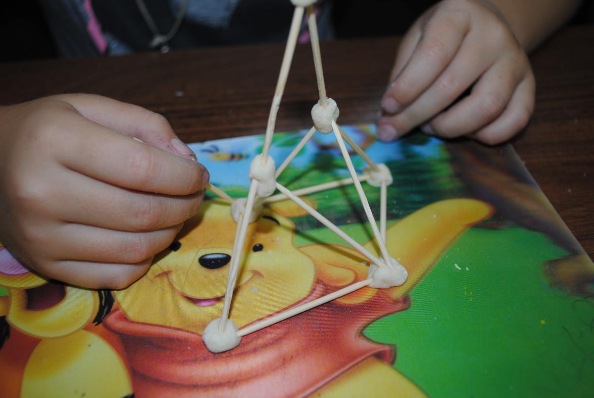 Как делать 3D модели из зубочисток