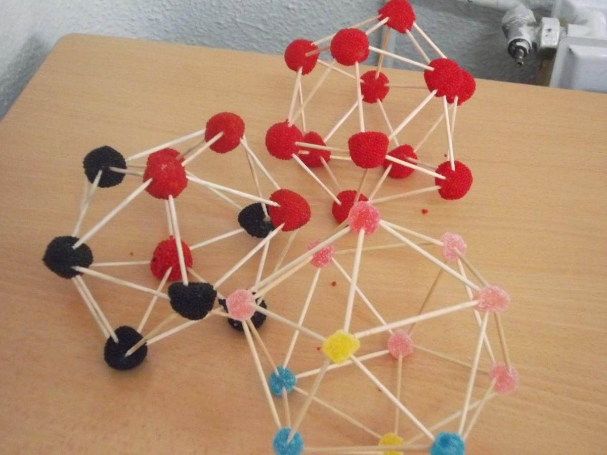 3D модели из зубочисток