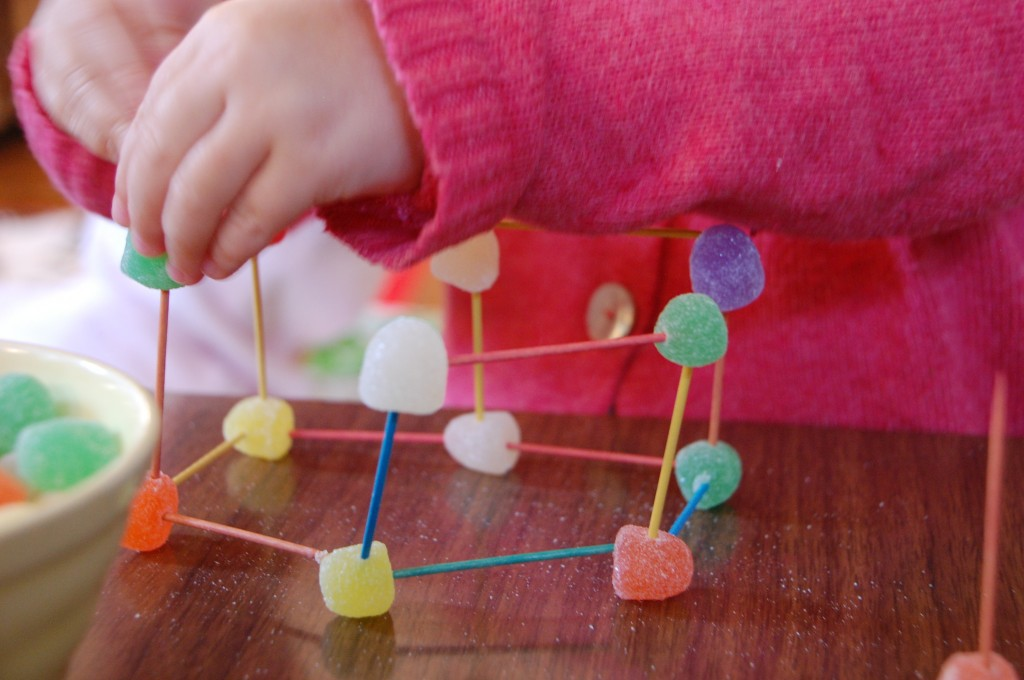 3D модели из зубочисток своими руками
