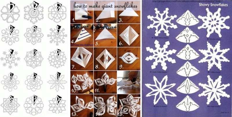 Поделки из бумаги к Новому году фото