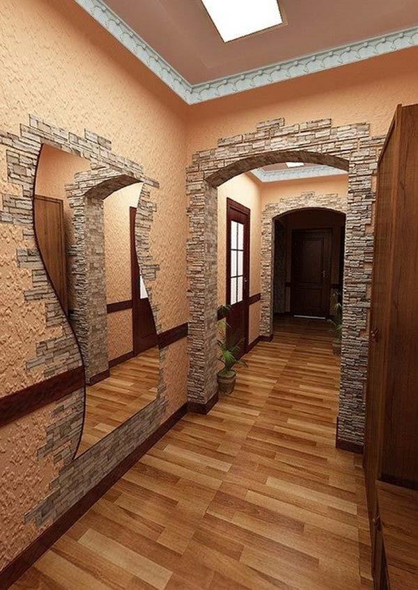 Облицовка стен под камень своими руками