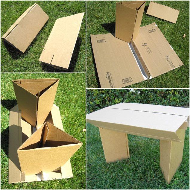 Поделки из картона фото