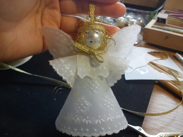 Ангелочки ко дню св. Николая своими руками