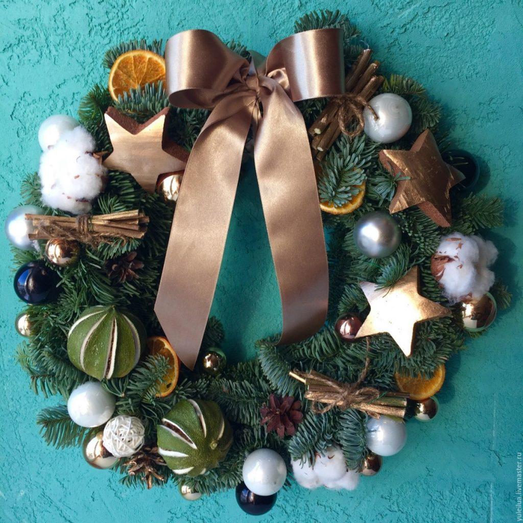 Новогодние украшения ко дню св. Николая своими руками