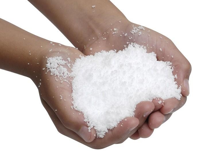 Искусственный снег своими руками