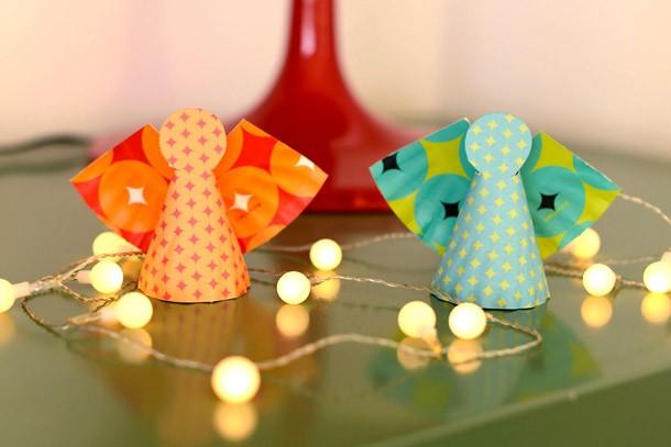 Рождественские ангелочки своими руками