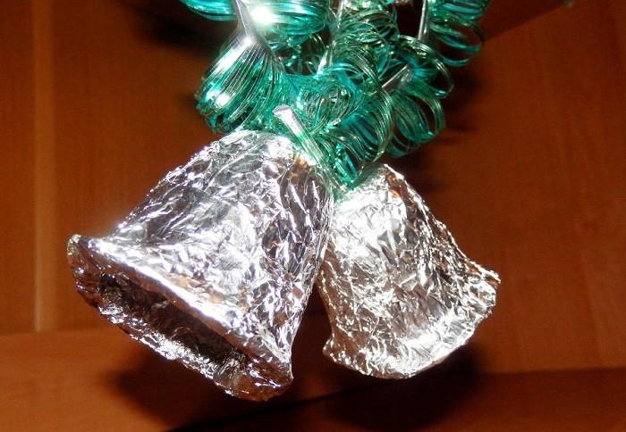 Рождественские колокольчики своими руками
