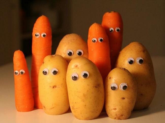 Поделки из картошки своими руками