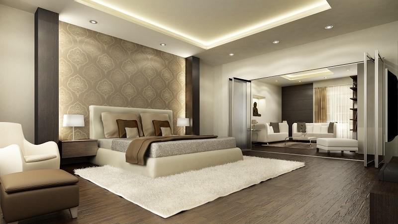 Комбинирование обоев в квартире