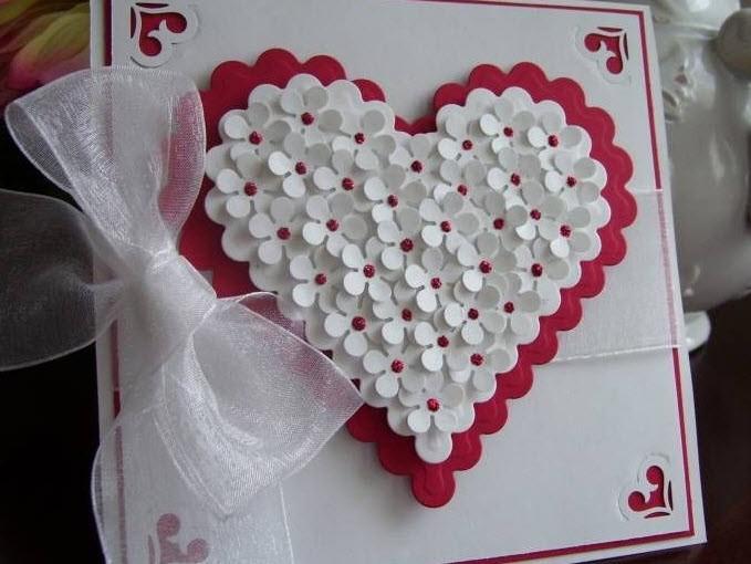 Поделки из бумаги на день Святого Валентина
