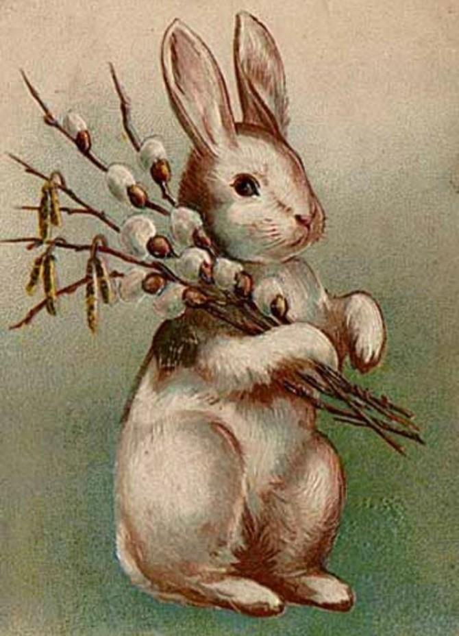 Поделка на Пасху своими руками. Пасхальный кролик