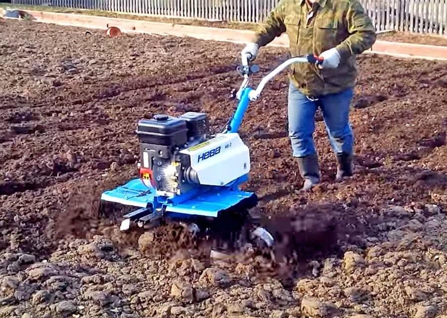 ПОдготовка почвы под посадку картофеля