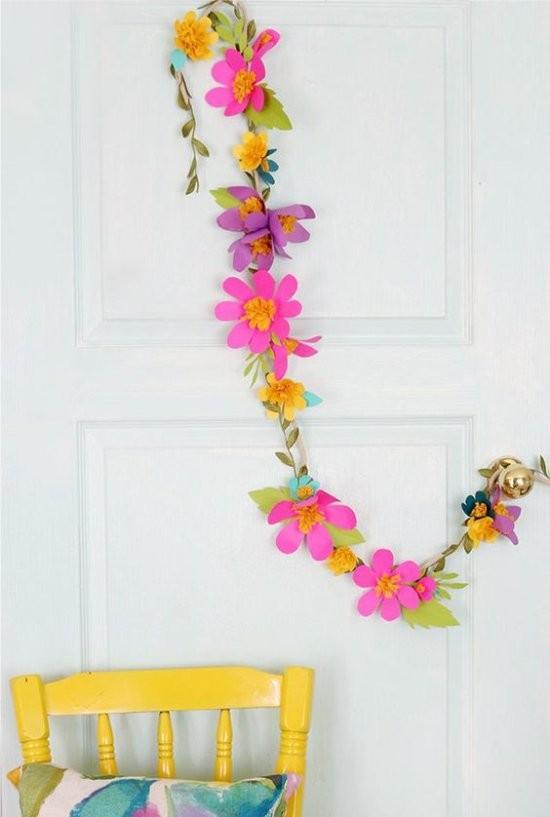 Как делать бумажные цветы