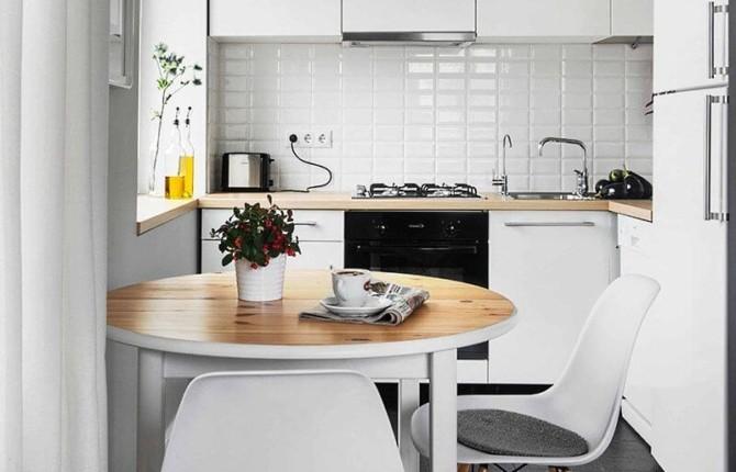 Кухонный фартук, укладка плитки шов в шов