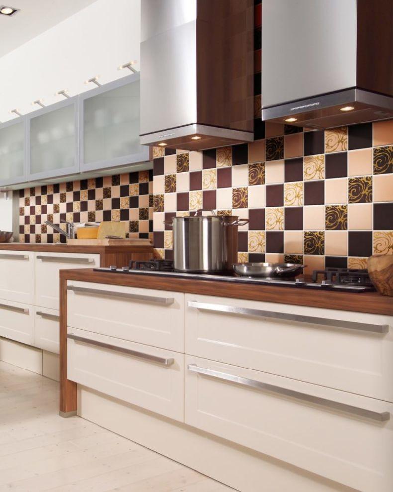 Как сделать фартук для кухни из плитки