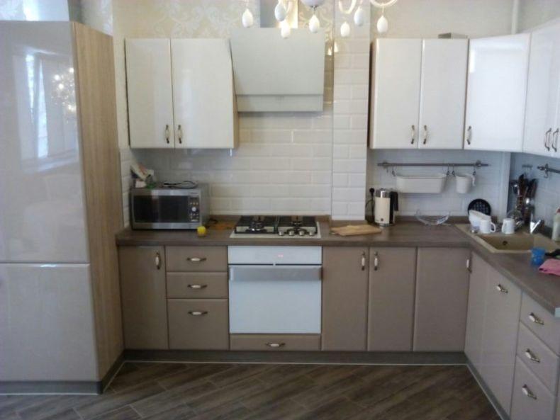 Фартук на кухню из плитки фото