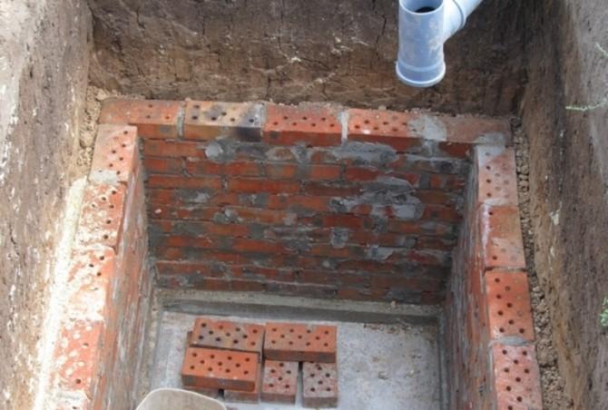Выгребная яма для туалета своими руками