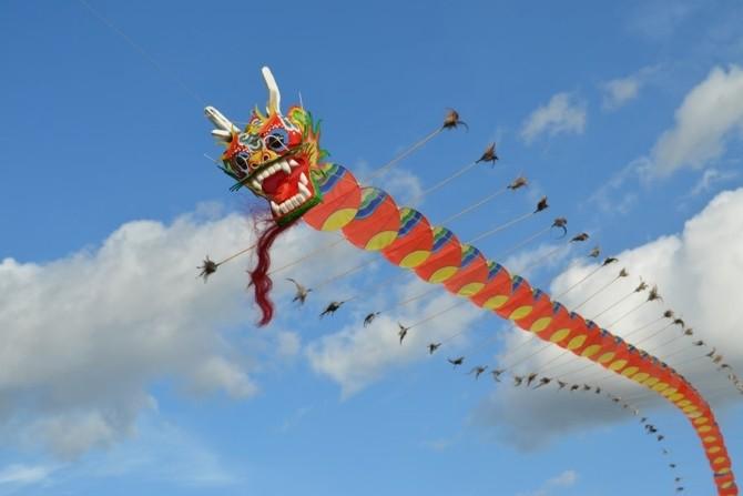 История создания воздушных змеев