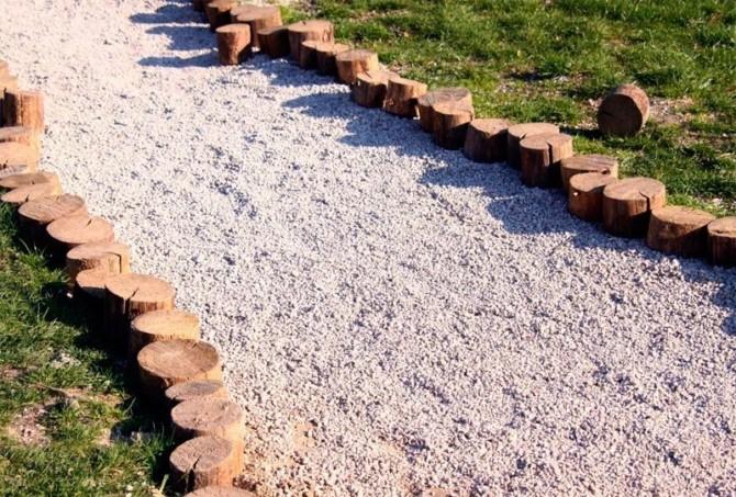 Садовая дорожка из песка своими руками