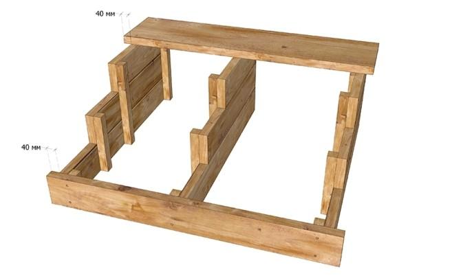 Деревянное крыльцо как сделать своими руками