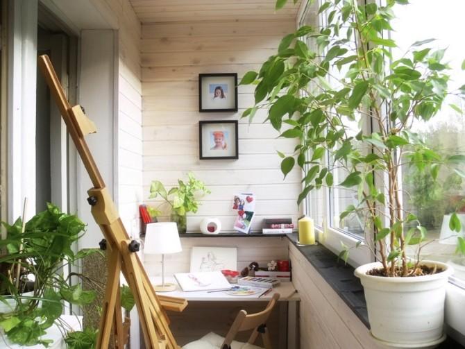 Популярные идеи дизайна лоджии/балкона