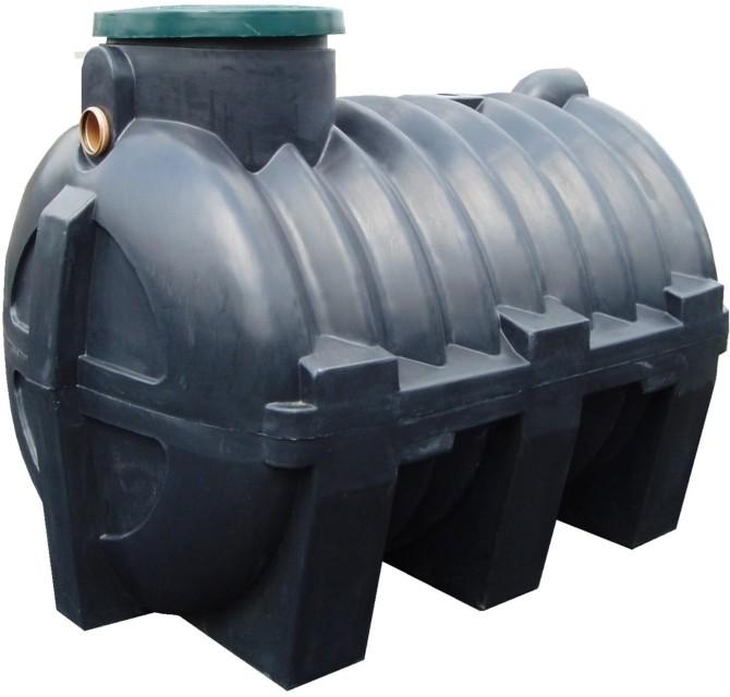 Септик из пластикового резервуара