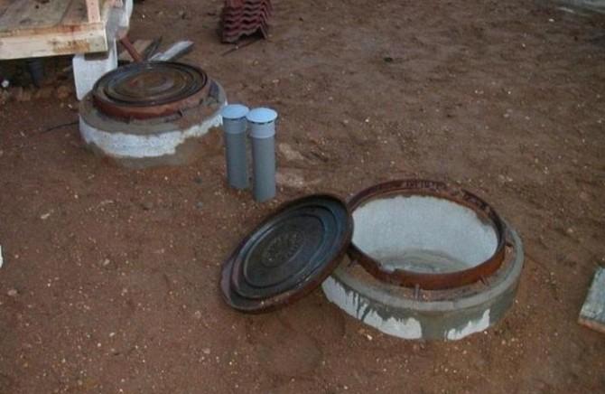 Обеспечение вентиляции выгребной ямы