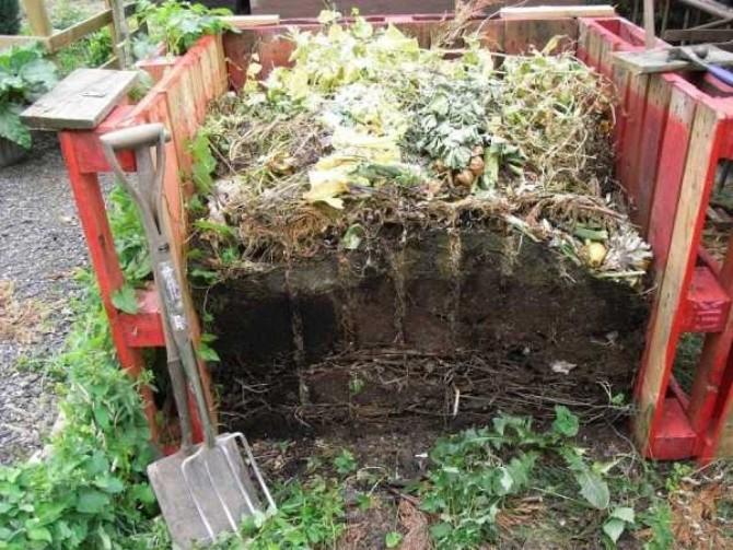 Как производится компост
