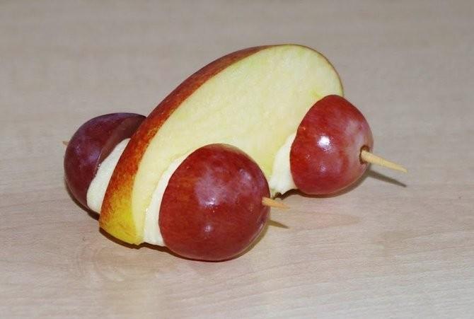 Поделки из винограда, машина
